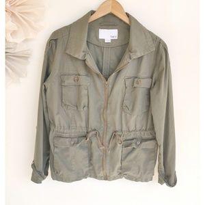 Bar III Army Olive Green Utility Jacket